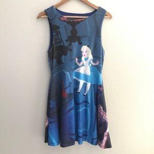 Hot Topic Disney Alice in Wonderland Skater Dress